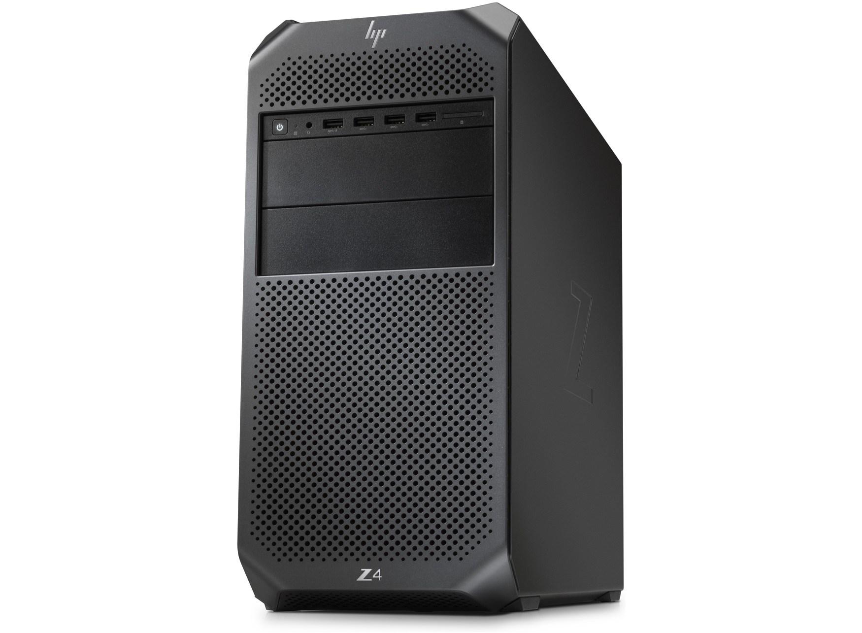 Máy Bộ WorkStation HP Z4 G4 (Xeon 2104/8GB RAM/1TB HDD/DVDWR/DOS) 4HJ20AV