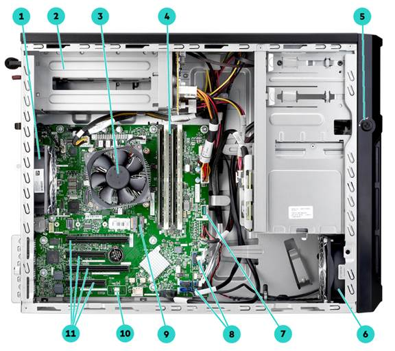 Mainboard HPE ProLiant ML30 Gen10