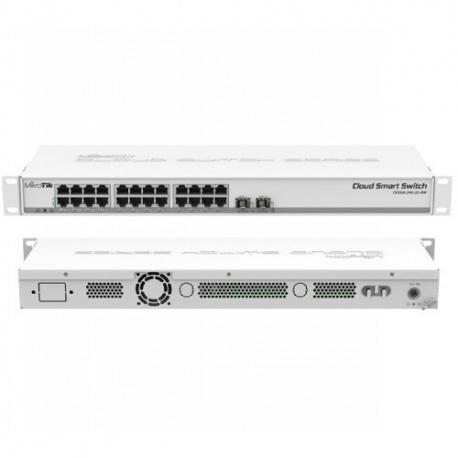 Thiết Bị Mạng Switch MikroTik 24 Port Gigabit Ethernet CSS326-24G-2S+RM
