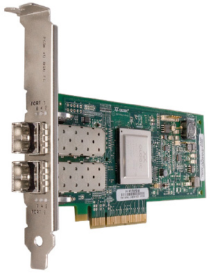 Card FC PCI-E IBM QLogic QLE2562 8G 2 port FC  (đã bao gồm 2 sfp)