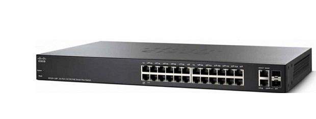 Thiết Bị Mạng Switch Cisco 24 Ports 10/100 Smart SF220-24-K9