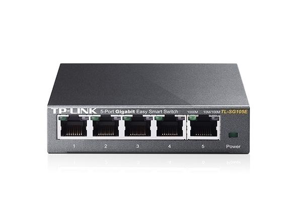 Thiết Bị Mạng Switch TP-Link 5 port Easy Smart Gigabit TL-SG105E