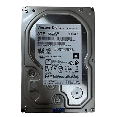 Ổ Cứng HDD Western Digital Enterprise WD Ultrastar DC HC320 8TB 3.5 inch 256MB Cache 7.2K RPM SATA 6Gb/s - NK