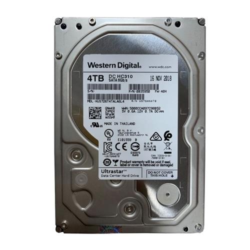 Ổ Cứng HDD Western 4TB Enterprise Ultrastar DC HC310 3.5inch 256MB Cache 7200RPM SATA3