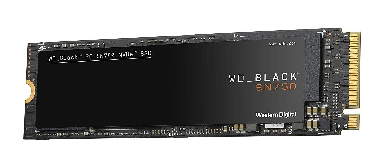 Ổ Cứng SSD Western Digital Black SN750 1TB M.2 2280 NVMe Gen3 x4