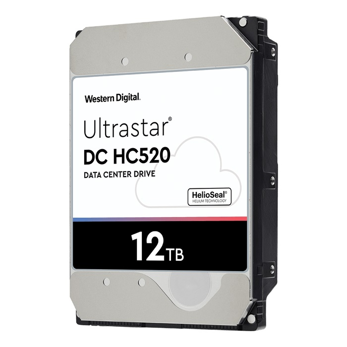 Ổ Cứng HDD Western Digital 12TB Ultrastar He12 7.2K RPM SATA-6Gb/s 3.5inch 256MB Cache
