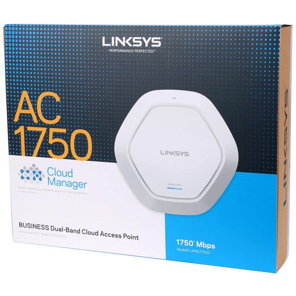 Thiết Bị Mạng Bộ Phát Sóng Wireless Linksys LAPAC1750C (Cloud Access Point)