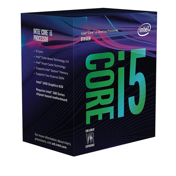 CPU Intel Core i5-9400F (6C/6T, 2.9 - 4.1 GHz, 9MB) - LGA 1151-v2