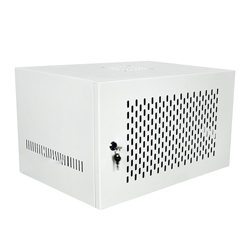 Tủ Rack Treo Tường SSN 6U-D400 (Cửa Thép)