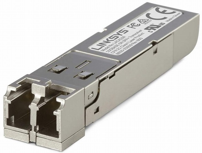 10GBASE-SR SFP+ TRANSCEIVER FOR BUSINESS LINKSYS LACXGSR