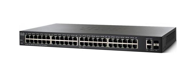 Thiết Bị Mạng Switch Cisco 50 Port Gigabit Smart Plus SG220-50-K9