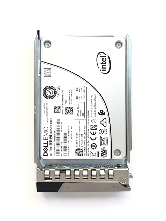 Dell 960GB SSD SATA Read Intensive 6Gbps 512e 2.5in Drive S4510