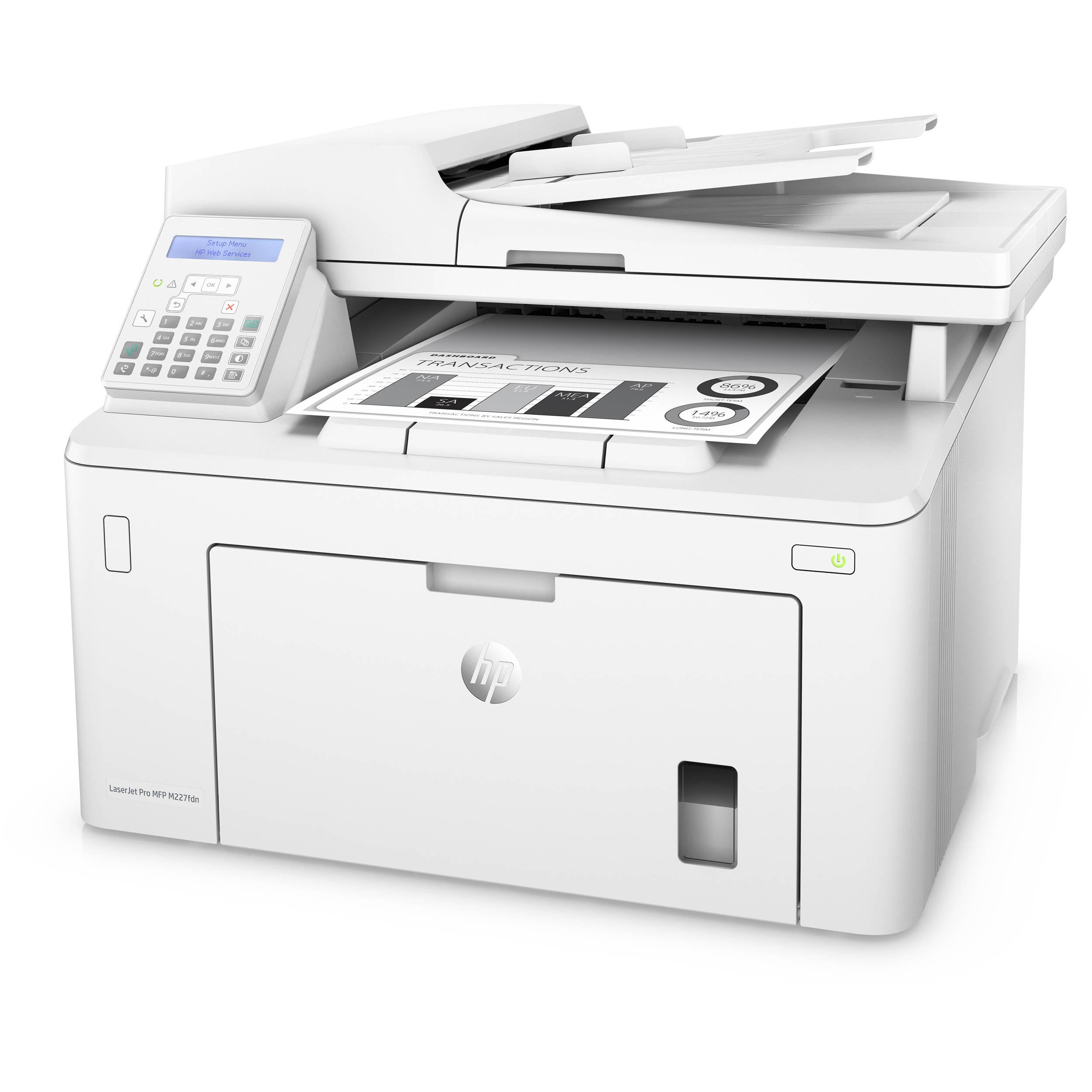 Máy in đa năng HP Laserjet Pro MFP M227FDN G3Q79A