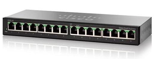 Thiết Bị Mạng Switch Cisco 16 Ports Gigabit Desktop SG95-16-AS