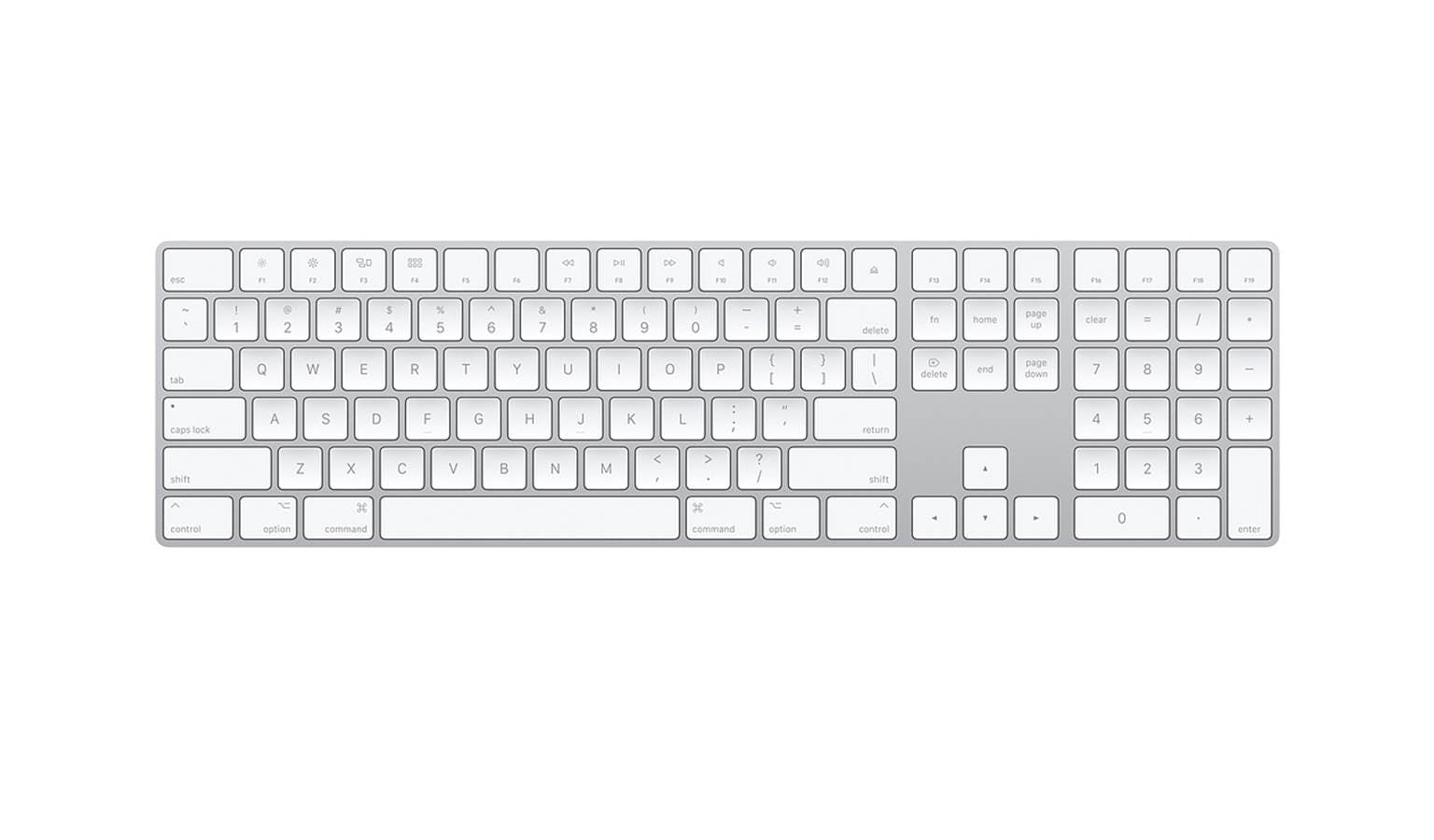 Bàn Phím Apple Magic Keyboard With Numeric Keypad