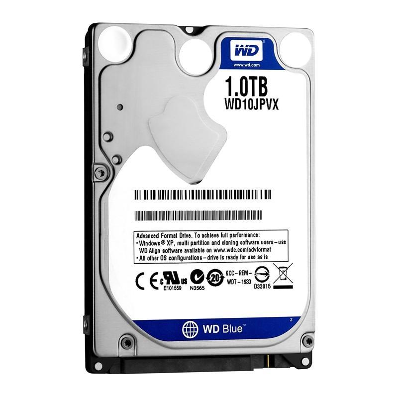 Ổ Cứng HDD Western Digital Blue 1TB 2.5inch SATA3 128Mb Cache 5400RPM