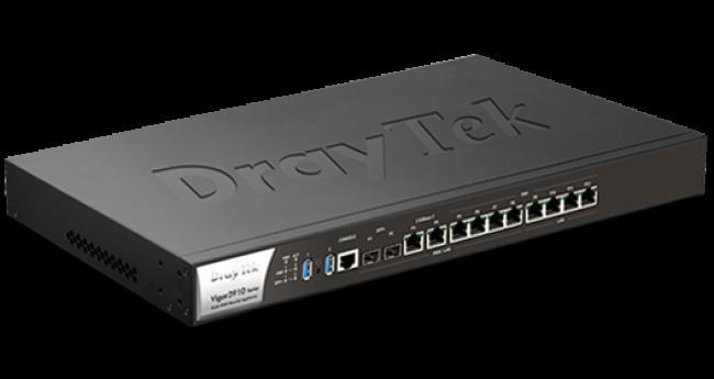 Thiết Bị Mạng DrayTek Vigor3910 - Router VPN Multi-WAN 10Gb Hiệu Năng Cao Cho Doanh Nghiệp
