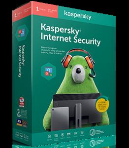 Phần Mềm Bản Quyền Kaspersky Internet Security cho 5PCs