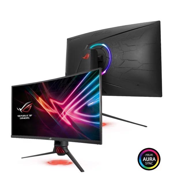 Màn Hình LCD Gaming Cong ASUS ROG Strix XG32VQR 32