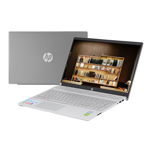 Laptop HP Pavilion 15-cs2120TX 8AG58PA (i5-8265U/4Gb/1TB HDD/15.6FHD/MX130 2GB/Win10/Grey)
