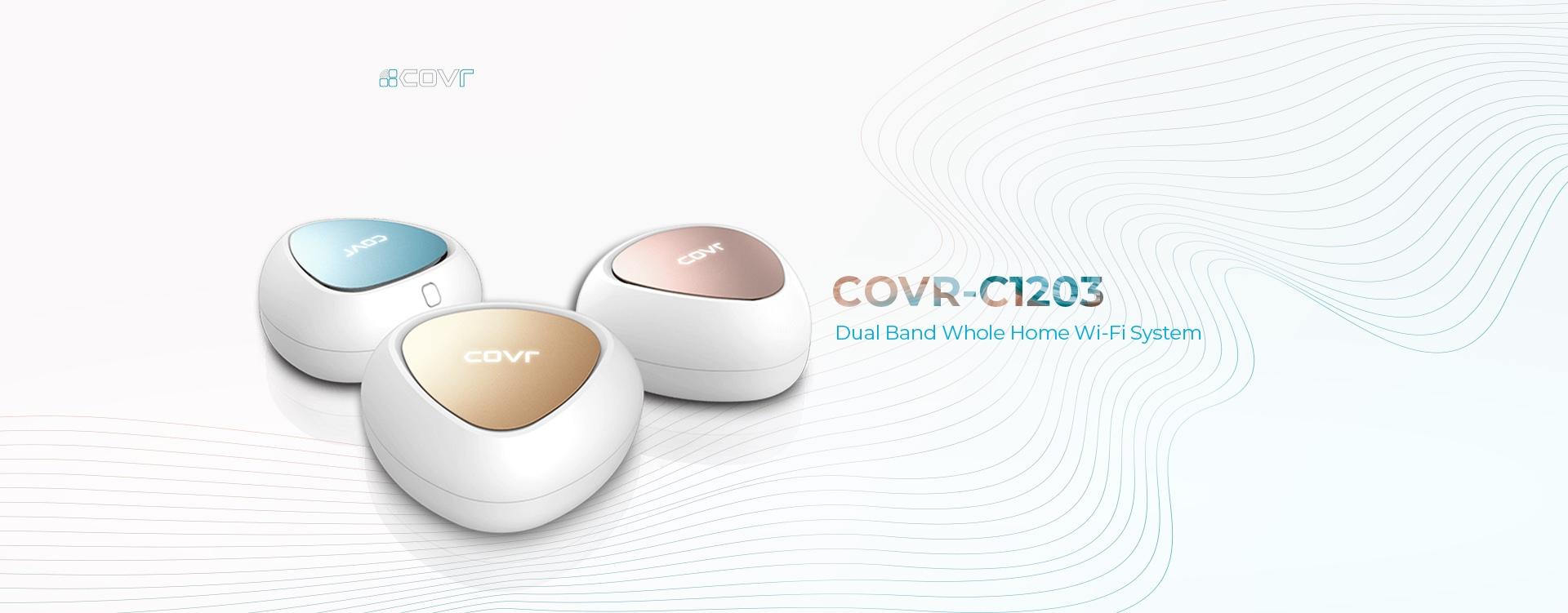 Thiết Bị Mạng Router Wifi Mesh D-Link COVR-C1203