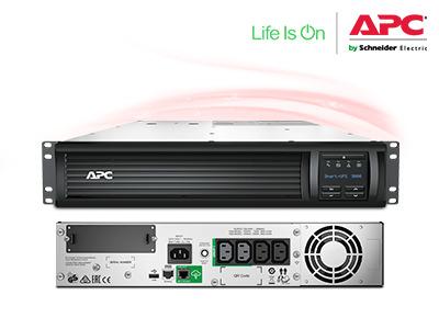 Bộ Lưu Điện APC Smart-UPS 3000VA LCD RM 2U 230V with SmartConnect.