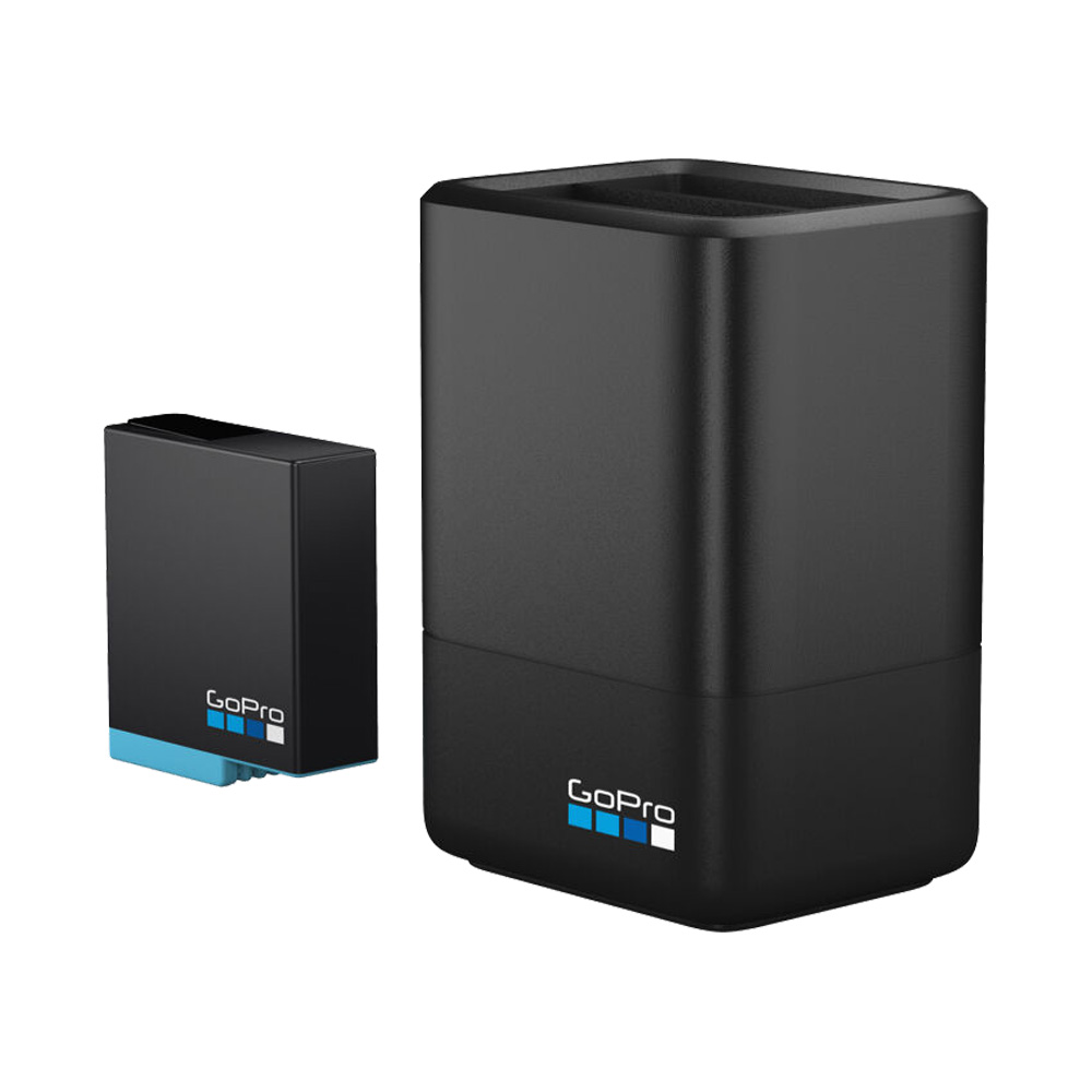 Bộ Dock sạc Dual và Pin cho GoPro HERO 8/7/6/5 AJDBD-001-EU