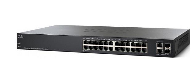 Thiết Bị Mạng Swicth Cisco 26 Ports PoE Smart Gigabit SG220-26P-K9-EU
