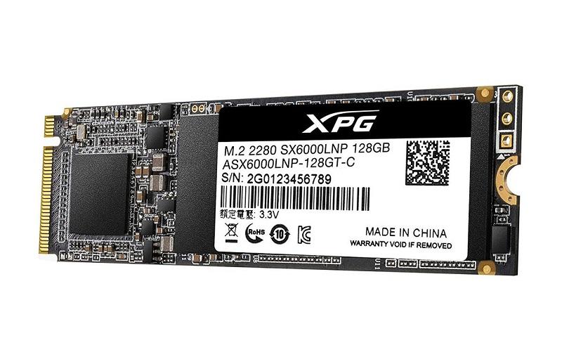 Ổ Cứng SSD Adata SX6000 LITE 128GB M.2 2280 NVMe