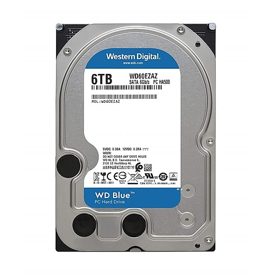 Ổ Cứng HDD Western Blue 6TB 5400 SATA3 6Gb/s 64Mb Cache