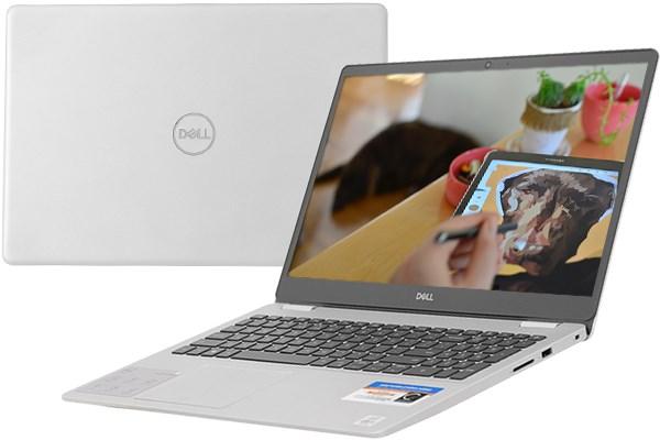 Laptop Dell Inspiron 5593 N5I5513W (i5-1035G1/ 8GB/ 256G SSD/ VGA 2GB/ 15.6inch/ W10/ Silver)