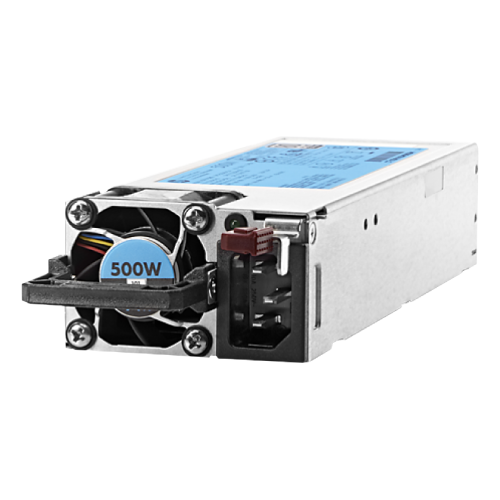 Bộ Nguồn HPE 500W Flex Slot Platinum Hot Plug Low Halogen Power Supply Kit