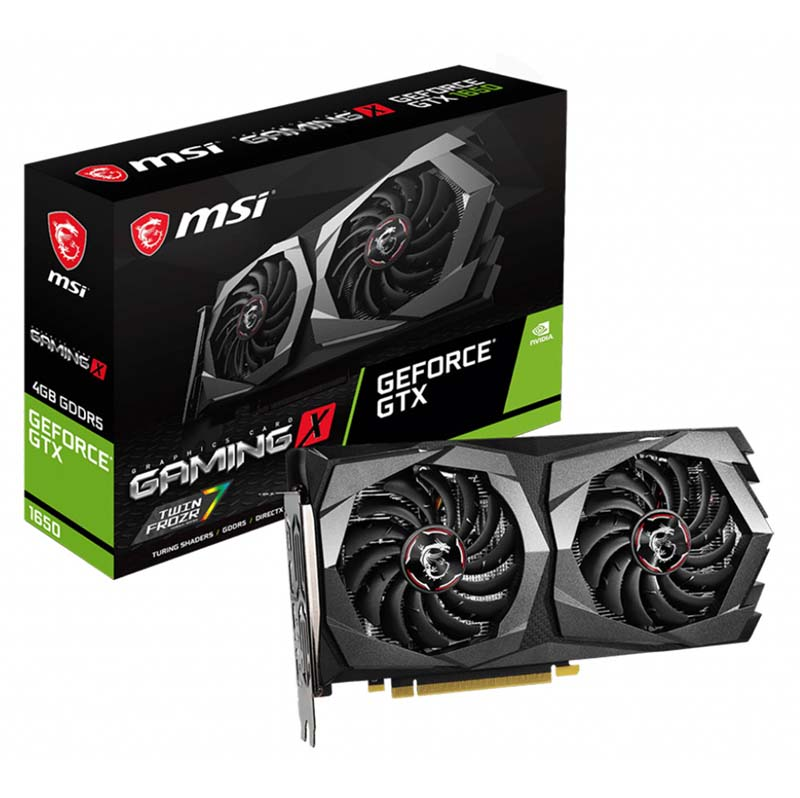 Card Màn Hình VGA MSI GeForce GTX 1650 Gaming X 4GB