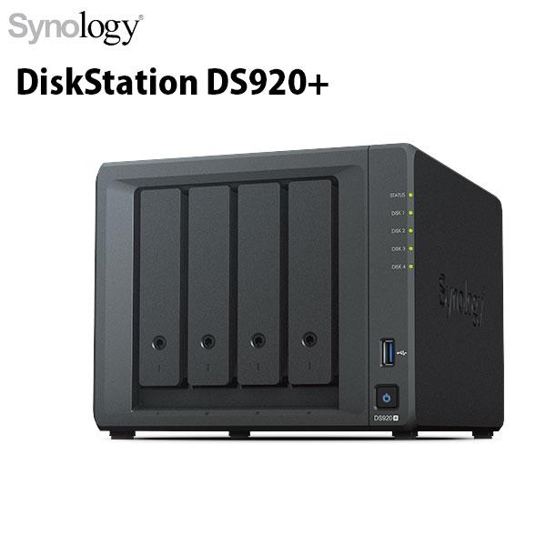 Thiết Bị Lưu Trữ Synology DiskStation DS920+