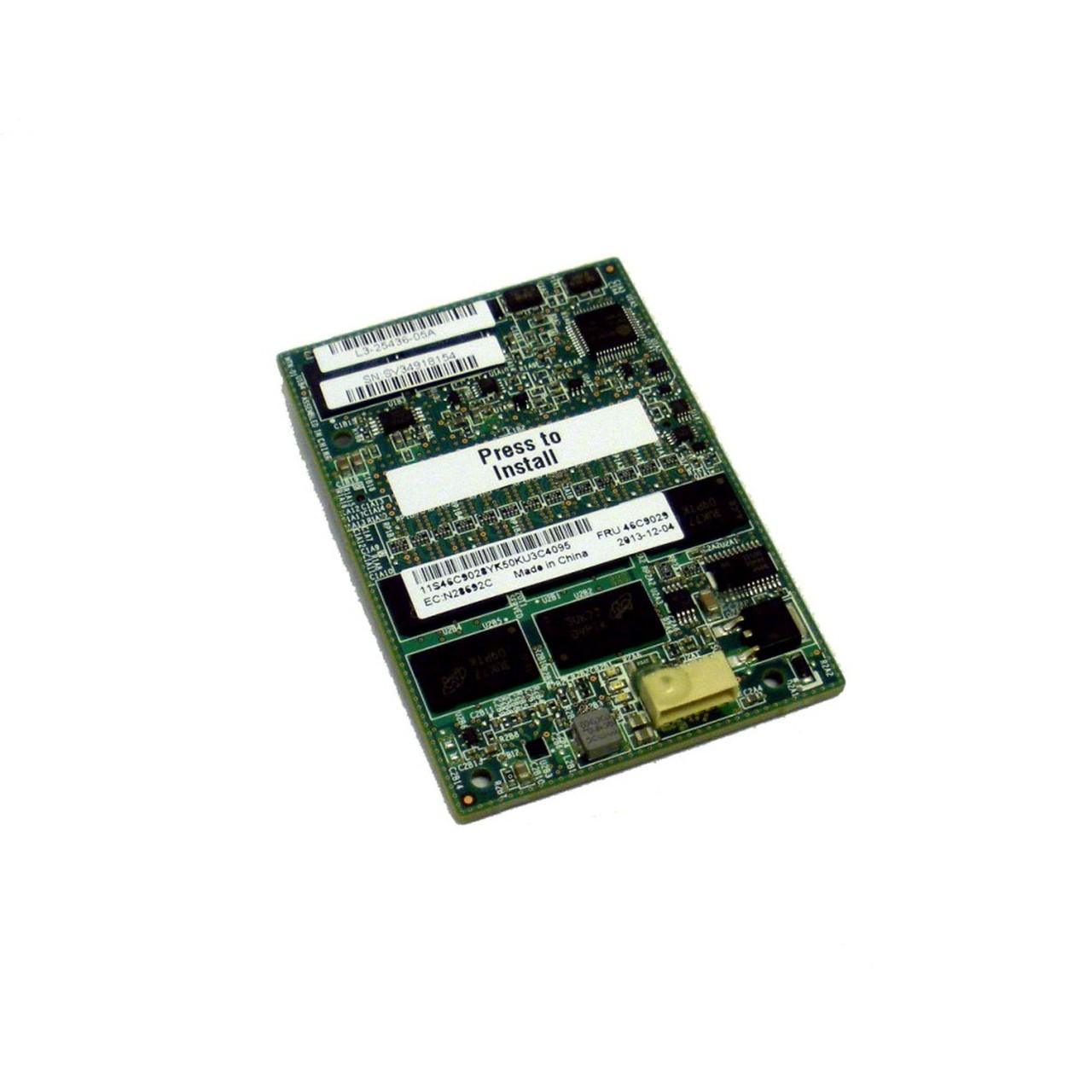 IBM 1GB MEMORY FLASH / RAID 5 FOR IBM SERVERAID M5016 / M5100 SERIES 46C9029