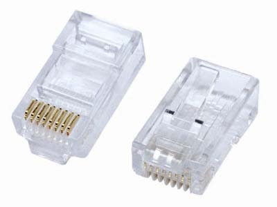 Đầu Mạng AMP Cat 5 Modular Jack Plug - 1 cái