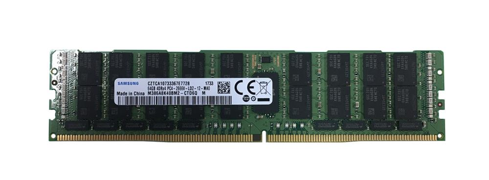 Bộ Nhớ RAM Samsung 64GB PC4-21300 DDR4-2666MHz ECC Registered LRDIMMs