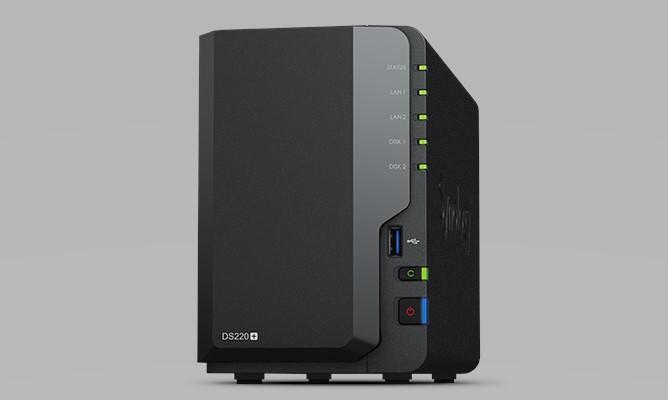 Thiết Bị Lưu Trữ NAS Synology DiskStation DS220+