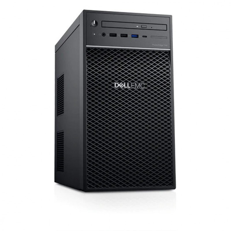Workstation Dell T40 (2224G/8GB/1TB/P400/DVDRW/Key+Mouse/Win10 Trial)