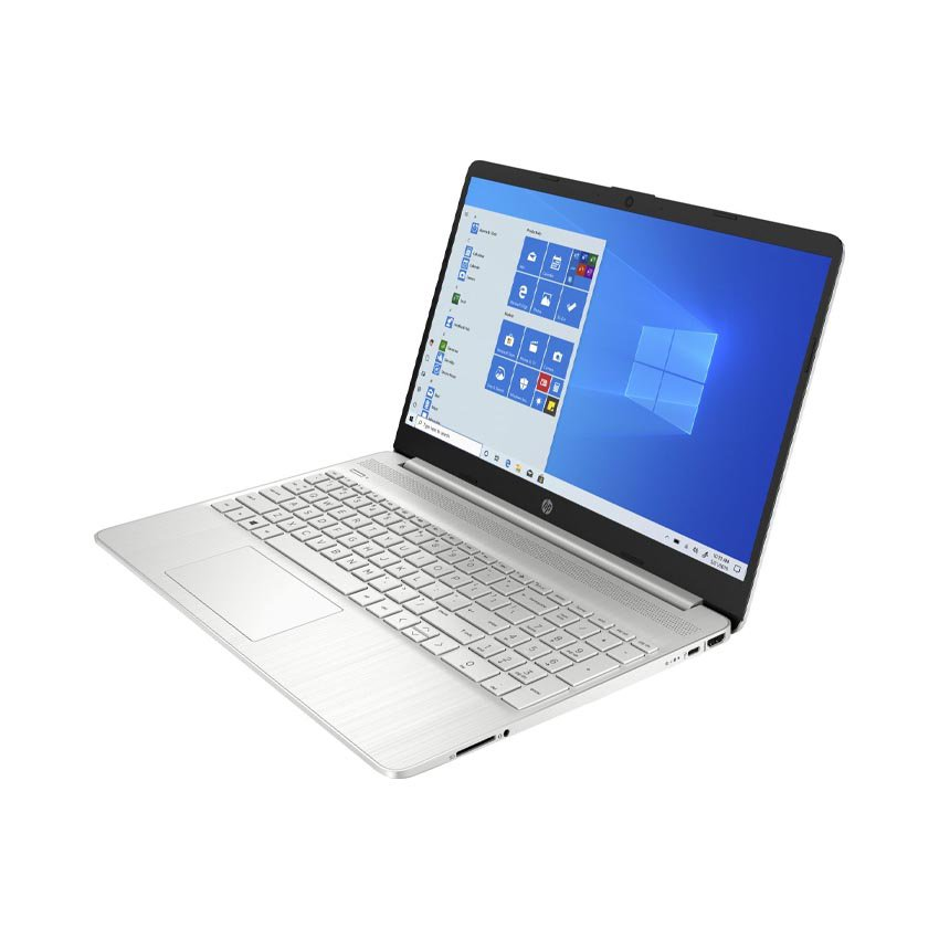 Laptop HP 15s-fq0003TU (1A0D4PA) (Pen N5000/4GB RAM/256GB SSD/15.6 HD/Win10/Bạc)