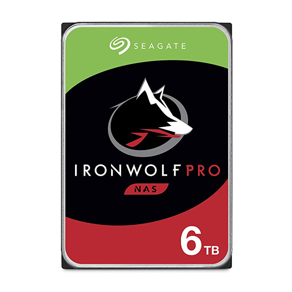 Ổ Cứng HDD Nas Seagate Ironwolf Pro 6TB 3.5 inch SATA3 256MB Cache 7200RPM