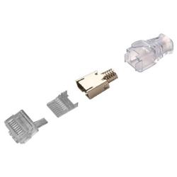 Đầu Mạng AMP/Commscope Cat6 FTP (3 Mảnh) (Box 100 cái)