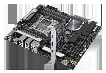 Main Asus WS C422 PRO/SE (Chipset Intel C242/ Socket LGA2066/ None VGA)