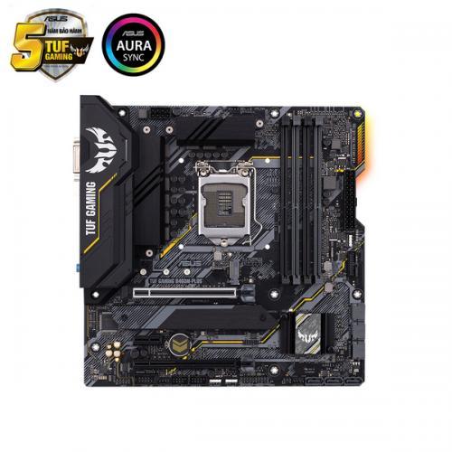 Main Asus TUF B460M PLUS GAMING (Chipset Intel B460/ Socket LGA1200/ VGA onboard)