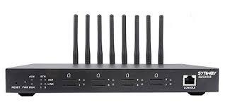 Thiết bị mạng GSM 8 kênh SIM di động Synway SMG4008