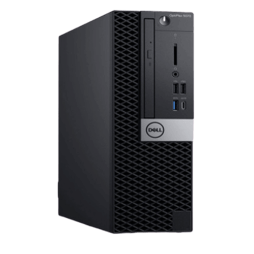 Máy Bộ PC Dell OptiPlex 5070 SFF (i5-9500/4GB RAM/1TB HDD/DVDRW/K+M/Linux)
