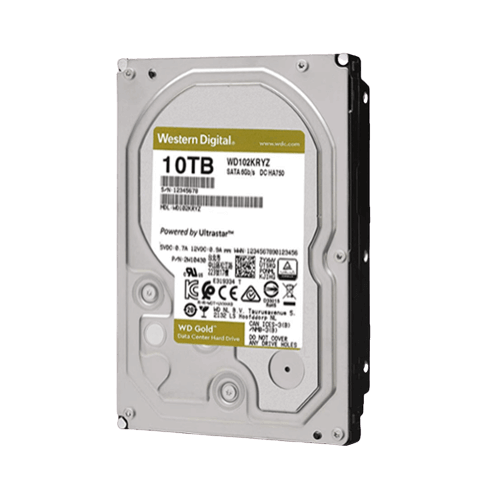 Ổ Cứng HDD Western Gold 10TB 3.5inch SATAIII 256MB Cache 7200RPM