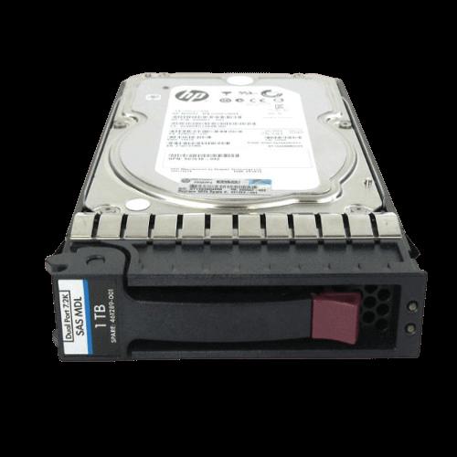 Ổ Cứng HDD HP 1TB 3G 7.2K 3.5inch DP SAS