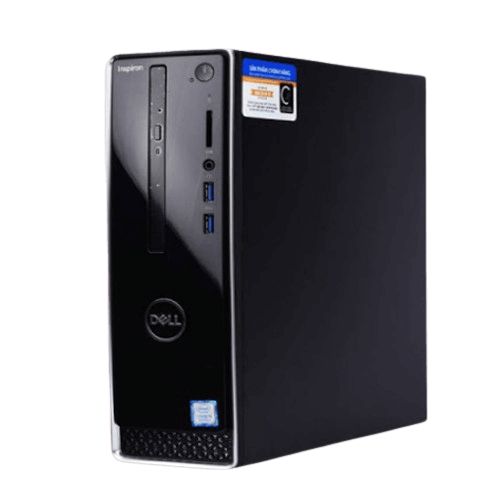 Máy tính bàn DELL Inspiron 3470 ST  Intel Core i3 - 8100 - 3.6GHZ , Ram 4GB , HDD 1TB ,DVDRW ,Wireless  + BT