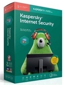 Phần mềm diệt virus Kaspersky Internet security cho 1 PC
